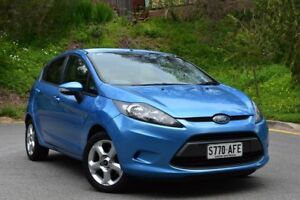 2009 Ford Fiesta WS LX Blue 5 Speed Manual Hatchback St Marys Mitcham Area Preview