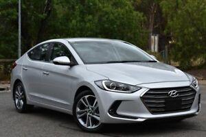 2016 Hyundai Elantra AD MY17 Elite Silver 6 Speed Sports Automatic Sedan St Marys Mitcham Area Preview