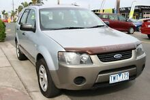 2005 Ford Territory SX TX (4x4) Silver 4 Speed Auto Seq Sportshift Wagon Heatherton Kingston Area Preview