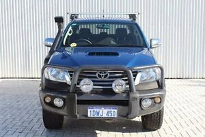 2013 Toyota Hilux KUN26R MY12 SR5 Double Cab Blue 5 Speed Manual Utility Embleton Bayswater Area Preview