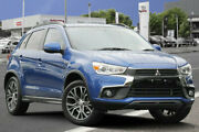 2017 Mitsubishi ASX XC MY17 LS 2WD Lightning Blue 6 Speed Constant Variable Wagon Adelaide CBD Adelaide City Preview