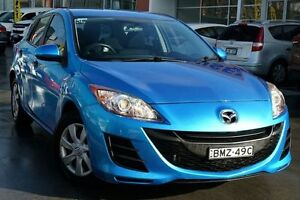 2010 Mazda 3 BL10F1 Neo Blue 6 Speed Manual Hatchback Pearce Woden Valley Preview