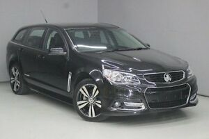 2015 Holden Commodore VF MY15 SV6 Sportwagon Storm Black 6 Speed Sports Automatic Wagon Greensborough Banyule Area Preview
