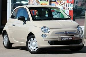 2013 Fiat 500 MY13 POP Beige 5 Speed Manual Hatchback Dee Why Manly Area Preview
