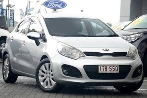2012 Kia Rio UB MY12 S Silver 6 Speed Manual Hatchback Moorooka Brisbane South West Preview
