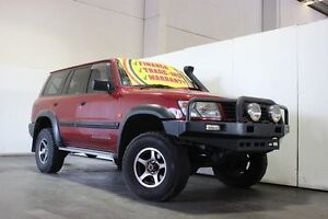 1999 Nissan Patrol GU ST (4x4) Red 5 Speed Manual 4x4 Wagon Underwood Logan Area Preview