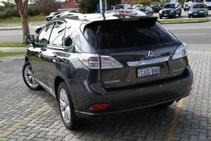 2011 Lexus RX450H Grey Constant Variable Wagon St James Victoria Park Area Preview