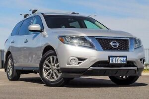 2013 Nissan Pathfinder R52 ST (4x2) Silver Continuous Variable Wagon Wangara Wanneroo Area Preview