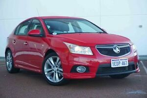 2013 Holden Cruze JH Series II MY14 SRi-V Red 6 Speed Sports Automatic Hatchback Wangara Wanneroo Area Preview