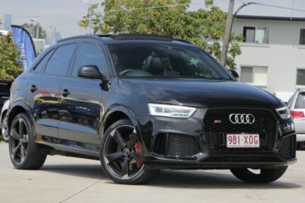 2016 Audi RS Q3 8U MY16 S tronic quattro Black 7 Speed Sports Automatic Dual Clutch Wagon