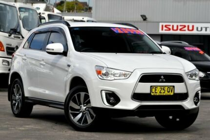 2015 Mitsubishi ASX XB MY15 LS (2WD) White 5 Speed Manual Wagon Arncliffe Rockdale Area Preview