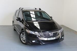 2012 Honda Odyssey 4th Gen MY12 Luxury Crystal Black 5 Speed Sports Automatic Wagon Hamilton East Newcastle Area Preview