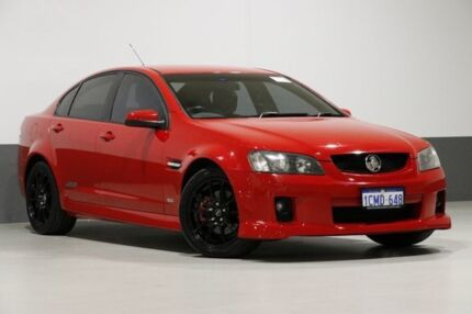 2007 Holden Commodore VE SS Red 6 Speed Automatic Sedan Bentley Canning Area Preview