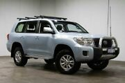 2012 Toyota Landcruiser VDJ200R MY10 GXL Blue 6 Speed Sports Automatic Wagon Welshpool Canning Area Preview