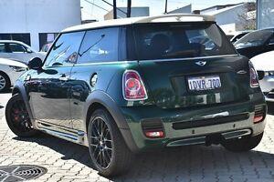 2012 Mini Hatch R56 LCI John Cooper Works Green 6 Speed Manual Hatchback Victoria Park Victoria Park Area Preview