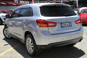 2012 Mitsubishi ASX XB MY13 Aspire (2WD) Silver 5 Speed Manual Wagon Homebush Strathfield Area Preview