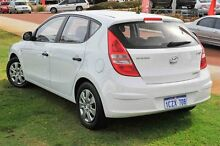 2009 Hyundai i30 FD MY09 SX White 5 Speed Manual Hatchback Wangara Wanneroo Area Preview