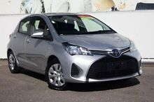 2014 Toyota Yaris  Silver Automatic Hatchback Osborne Park Stirling Area Preview