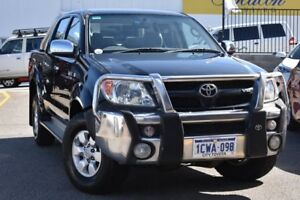 2008 Toyota Hilux GGN25R MY08 SR5 Black 5 Speed Automatic Utility Claremont Nedlands Area Preview