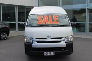 2014 Toyota Hiace KDH221R MY14 Super LWB White 5 Speed Manual Van Mount Gravatt Brisbane South East Preview