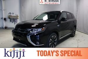 2018 Mitsubishi Outlander PHEV PHEV SE AWD PLUG IN HYBRID, LEATH