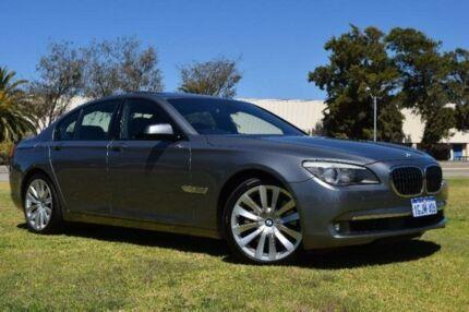 2012 BMW 750I F01 Grey Sports Automatic Sedan