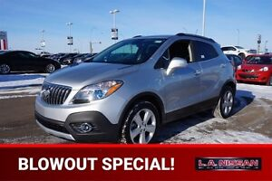 2015 Buick Encore ALL WHEEL DRIVE Leather,  Heated Seats,  Sunro