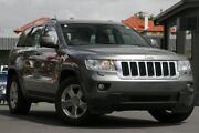 2012 Jeep Grand Cherokee WK MY2012 Laredo Grey 5 Speed Sports Automatic Wagon Wavell Heights Brisbane North East Preview