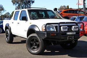2001 Nissan Navara D22 S3 DX White 5 Speed Manual Utility Liverpool Liverpool Area Preview