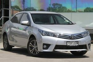 2015 Toyota Corolla ZRE172R ZR Silver 7 Speed CVT Auto Sequential Sedan Old Guildford Fairfield Area Preview