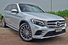 2015 Mercedes-Benz GLC250  Silver Sports Automatic Wagon Burwood Whitehorse Area Preview