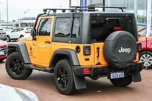 2012 Jeep Wrangler JK MY2012 Sport Yellow 6 Speed Manual Softtop Maddington Gosnells Area Preview