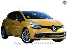 2014 Renault Clio X98 Series IV R.S. 200 EDC SPORT Liquid Yellow - Signature 6 Speed Sports Automati South Melbourne Port Phillip Preview