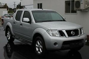 2012 Nissan Navara D40 S6 MY12 ST Silver 5 Speed Sports Automatic Utility Devonport Devonport Area Preview