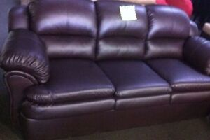 Brand New In packaging leather SOFA AND LOVESEAT!!!