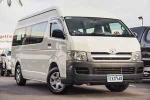 2006 Toyota Hiace TRH223R Commuter High Roof Super LWB French Vanilla 4 Speed Automatic Bus Glendalough Stirling Area Preview
