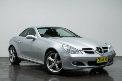 2006 Mercedes-Benz SLK350 R171 MY06 Silver 7 Speed Automatic Roadster Rozelle Leichhardt Area Preview