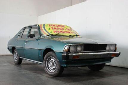 1979 Mitsubishi Sigma GE GL Green 3 Speed Automatic Sedan