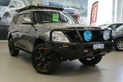 2014 Nissan Patrol Y62 ST-L (4x4) Pewter 7 Speed Automatic Wagon Rockingham Rockingham Area Preview