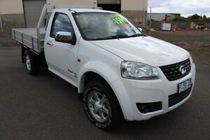 2013 Great Wall V200 K2 MY13 White 6 Speed Manual Cab Chassis Invermay Launceston Area Preview