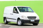 2009 Mercedes-Benz Vito 639 MY09 109CDI Low Roof Comp White 6 Speed Manual Van Ringwood East Maroondah Area Preview