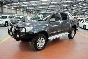 2011 Toyota Hilux KUN26R MY10 SR5 Grey 5 Speed Manual Utility Maryville Newcastle Area Preview