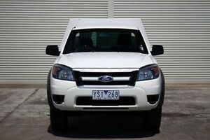 2011 Ford Ranger PK XL White 5 Speed Automatic Cab Chassis Seaford Frankston Area Preview