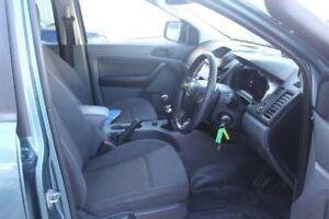 2012 Ford Ranger PX XL Double Cab Blue 6 Speed Manual Cab Chassis