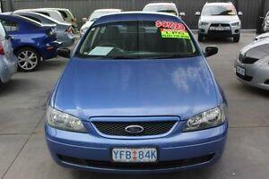 2003 Ford Falcon BA XL (LPG) Blue 4 Speed Auto Seq Sportshift Utility Mitchell Gungahlin Area Preview