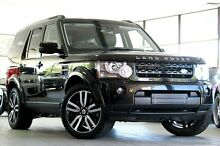 2011 Land Rover Discovery 4 MY11 3.0 SDV6 HSE Black 6 Speed Automatic Wagon Roseville Ku-ring-gai Area Preview