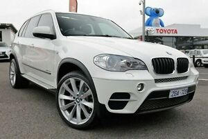 2012 BMW X5 E70 MY12.5 xDrive30d Steptronic White 8 Speed Sports Automatic Wagon Keysborough Greater Dandenong Preview