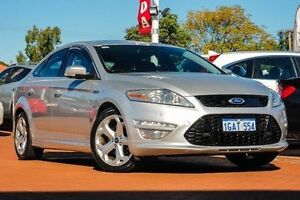 2012 Ford Mondeo MC Titanium PwrShift TDCi Silver 6 Speed Sports Automatic Dual Clutch Hatchback Myaree Melville Area Preview