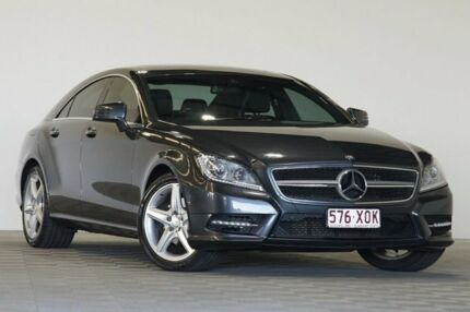 2013 Mercedes-Benz CLS 218 MY13 Update 250 CDI Grey 7 Speed Automatic G-Tronic Coupe