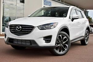 2016 Mazda CX-5 MY15 GT (4x4) Crystal White Pearl 6 Speed Automatic Wagon Gymea Sutherland Area Preview